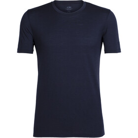 Icebreaker Tech Lite Top Manga Corta Hombre, midnight navy